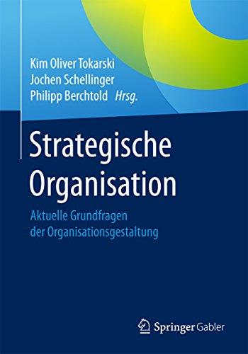 Buch Strategische Organisation